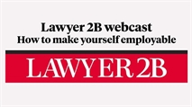 Webcast: How to make yourself employable