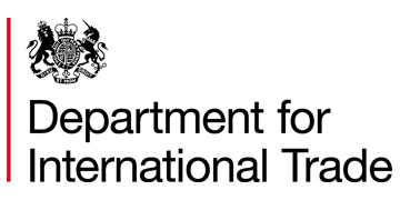 The Department for International Trade / Trade Remedies Authority logo