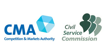 Competition and Markets Authority (CMA), Civil Service Commission logo
